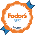 Fodor's best Boston logo